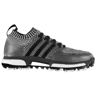 New Mens Adidas Tour360 Knit Golf Shoes Core Black / White -