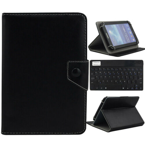 """US For 9.7""""-10.1"""" Tablet Black Universal Leather Case Cover"""
