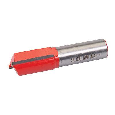 """1/2"""" Shank Straight Metric Cutter Router Bits Woodwork 25mm Long x 16mm Diameter"""