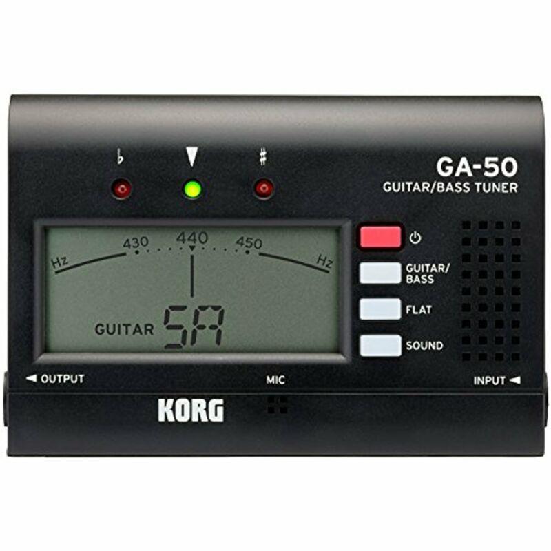 Korg GA50 Guitar and Bass Tuner
