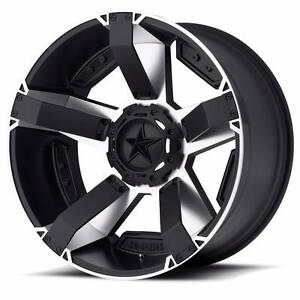 "17"" XD811 ROCKSTAR 2 WHEELS MICKEY THOMPSON MUD TYRES Sydney City Inner Sydney Preview"