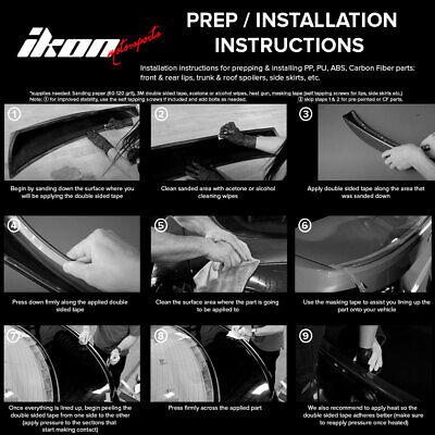 Se adapta a 96-98 Honda Civic EK Mugen Style Kit de carrocería de alerón de mentón para parachoques delantero PP