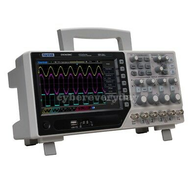 Hantek Dso4204c 4ch Digital Oscilloscope 64k 200mhz Bandwidth 1gss Sample Rate