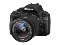 Canon EOS 100D 18.0 MP Digital SLR Camera - Black (Kit with 18-55mm Lens) DSLR Excellent Condition
