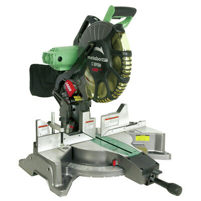 Metabo Hpt C12fdhmr 12 In Dual Bevel Miter Saw W Laser Guide Reconditioned