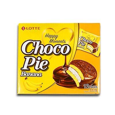 LOTTE Choco Pie Banana 12Packs (336g)