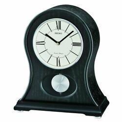 Seiko QXQ027KLH Mantel Japanese Quartz Shelf Clock
