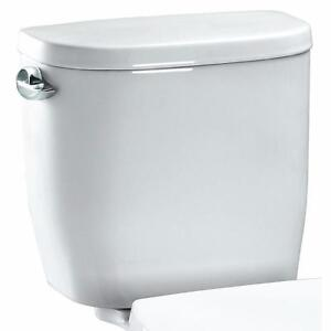 New, TOTO ST243E#01 PU3 ENTRADA TOILET TANK - COTTON (Open Box)