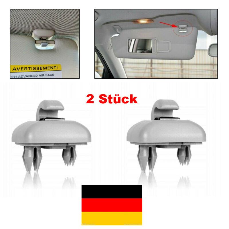 2x Sonnenblende Halter Haken 8U0857562 Für Audi A3 A4 A5 Q5 A7 B6 B7 B8 S4 S5 DE