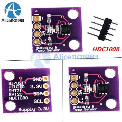 Hdc1080 Digital Temperature And Humidity Sensor Breakout Board For Arduino