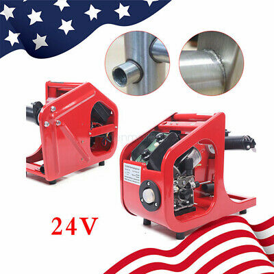 Co2 Mag Carbon Dioxide Gas Shielded Welding Machine Wire Feeder Automatic Red