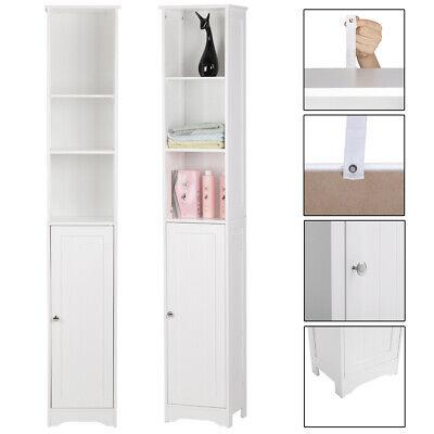 "67"" Tall Floor Bathroom Cabinet Medicine Organizer Rack Narrow Storage 5 Shelves comprar usado  Enviando para Brazil"
