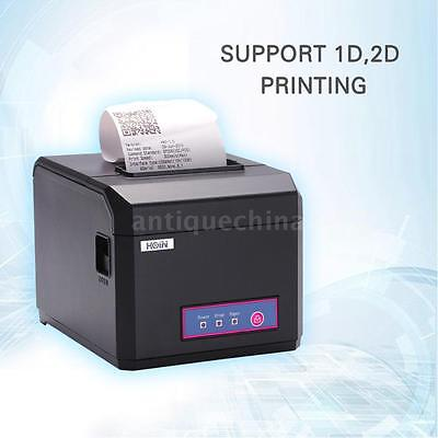 Hoin 80mm 58mm Pos Dot Receipt Paper Barcode Thermal Printer Usblan Port X1m5
