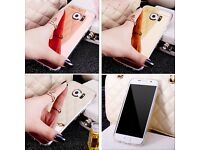 Luxury Ultra Thin Shockproof Mirror Soft Silicone TPU Gel Case Cover for Samsung s5