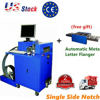 Cnc Notching Notcher Machine For Metal Channel Letter Single Side Notch Gift