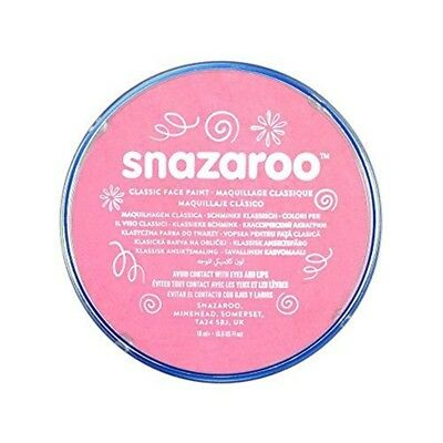 Snazaroo 1118577 Classic Face Paint, 18ml, Pale Pink - 18ml Paint Colours Body - Pale Face Halloween