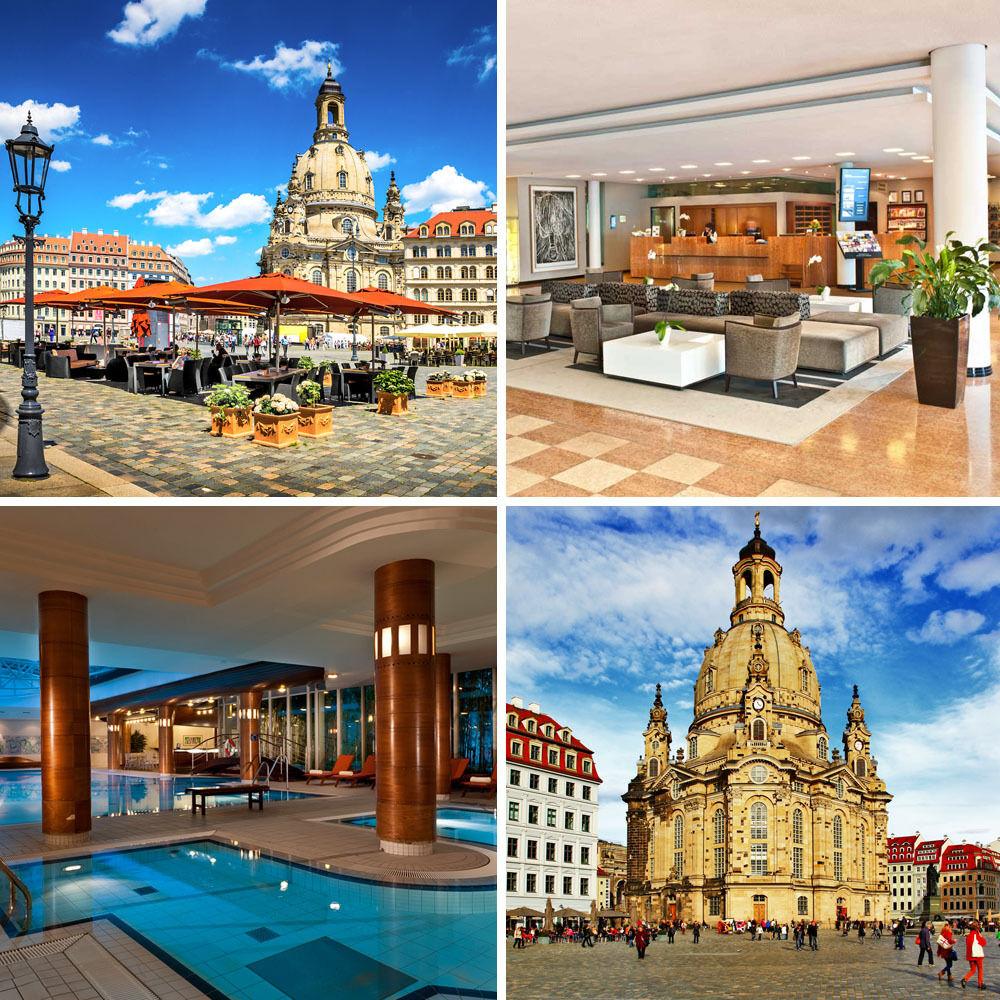 3 Tage Wellnessurlaub für 2 Personen im 4* Radisson Blu Park Hotel Dresden