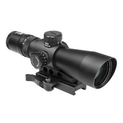 3-9x42 Tactical Scope Illuminated P4 Sniper Reticle NcSTAR Mark III Rifle (Ncstar Mark Iii Tactical P4 Sniper 3 9x42)