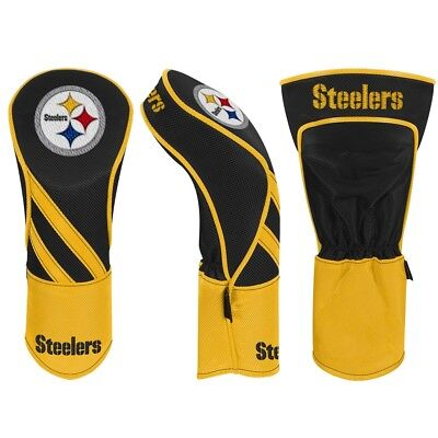 PITTSBURGH STEELERS EMBROIDERED FAIRWAY HEADCOVER INDIVIDUAL NEW WINCRAFT Pittsburgh Steelers Golf Headcover