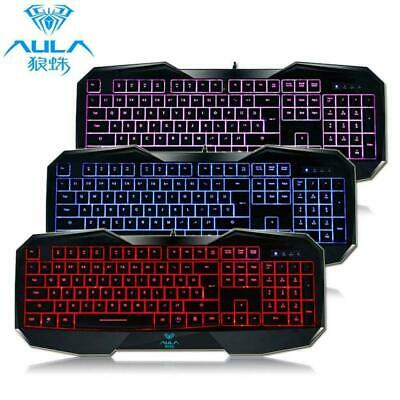 Cool Multimedia LED Illuminated Backlight USB Wired Gaming K
