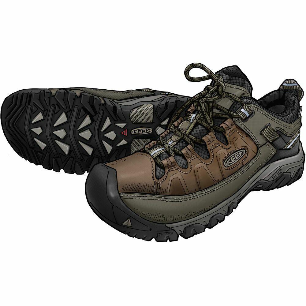 Duluth Trading Men's KEEN Targhee III Leather Waterproof Sho