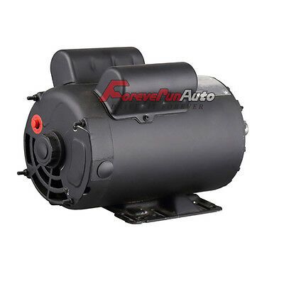 2 Hp Spl Compressor Duty Electric Motor 3450 Rpm 56frame 58 Shaft 120240 Volt