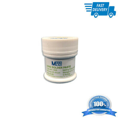 Lead Low Temperature Smt Melt Melting Point 158c Solder Paste 50 Gr