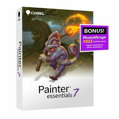 Corel Painter Essentials 7 Windows Digital Art Suite Free Shipping!