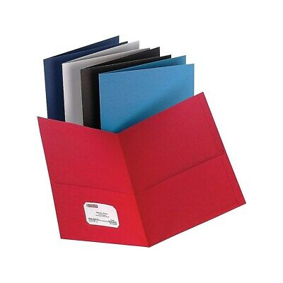 Staples 2-pocket Folder Assorted Colors 905655