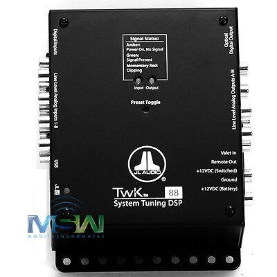 JL AUDIO TwK-88 SYSTEM TUNING DIGITAL SIGNAL PROCESSOR 8 CH. INPUT & OUTPUT USED