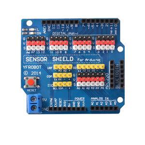 Sensor Shield V5.0 Erweiterungsboard Expansion Modul für Arduino UNO R3 TE606