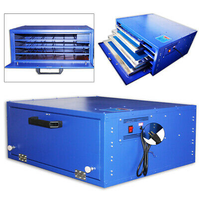 800w Silk Screen Printing Drying Cabinet Equipment 4 Layes Warming Exposure Unit