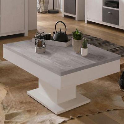 Couchtisch Wohnzimmertisch Designertisch Tisch Beistelltisch Tische 80x80 beton ()