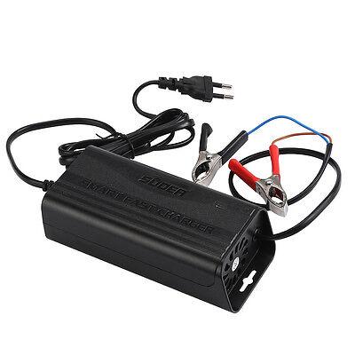 12V 5A intelligentes Auto Motorrad Ladegerät Blei Säure Batterieladegerät 220V (Blei-säure-batterie-ladegerät)