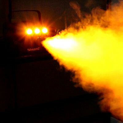 Beamz LED smoke machine for Halloween