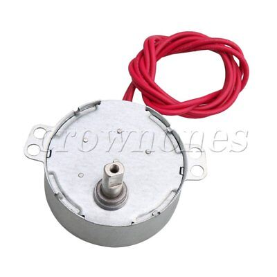 12v Ac Low Speed Synchronous Gear Motor 0.9-1 Rpm Speed Ccw Cw Motor