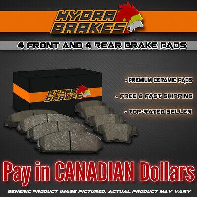 FITS 2005 2006 2007 CHEVROLET CORVETTE Ceramic Brake Pads F+R for sale  Canada
