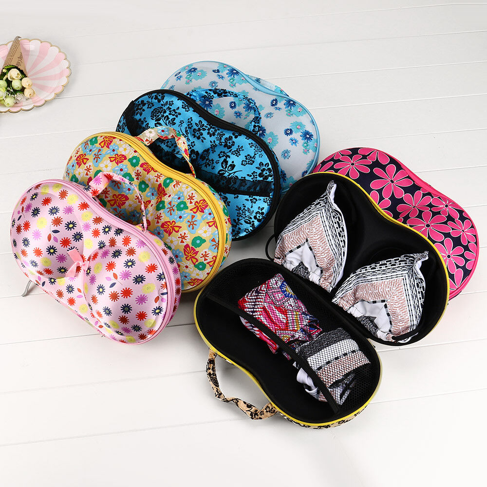 Storage Bag Box Protect Bra Underwear Finishing Package Travel Case Portable