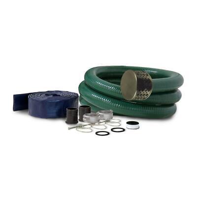 Champion Power Equipment Hose Adapter Kit 3 In. Semi-trash Water Pump Filtration