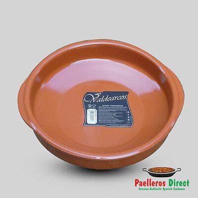 24cm Spanish Terracotta Tapas Dish / Cazuela