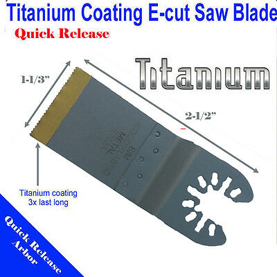 Titanium Bi Metal Saw Blade Oscillating Multi ...