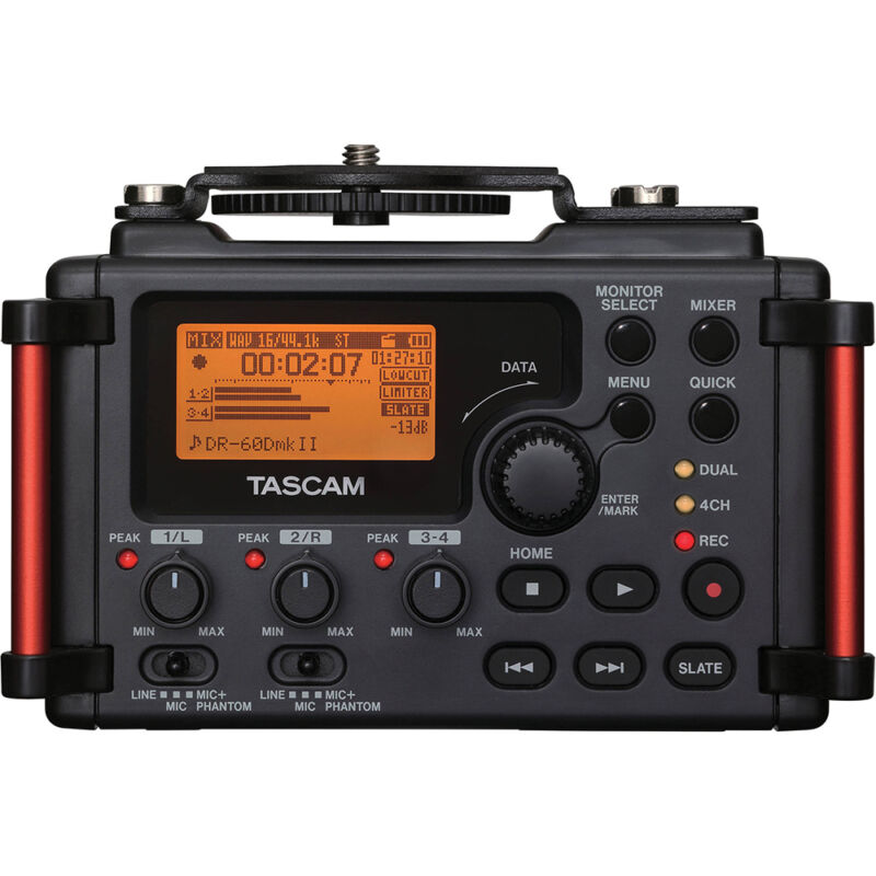 Tascam Portable Recorder for DSLR - DR-60DMKII