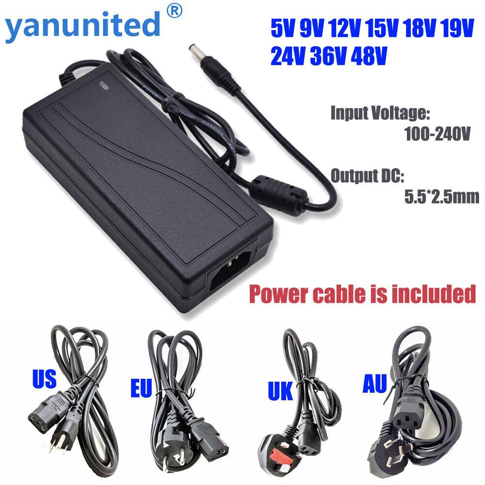 AC110 220V Power Supply Adapter LED Strip 1A 2A 3A 5A 8A 10A