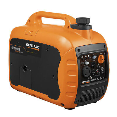 Generac GP3000i Super Quiet Inverter Generator - 3000 Starti