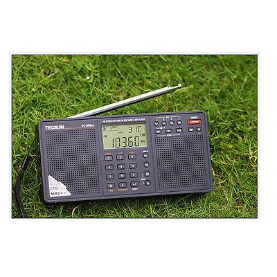 Tecsun PL-398MP Digital DSP Stereo FM/MW(AM)/LW/SW Receiver MP3 Player Radio