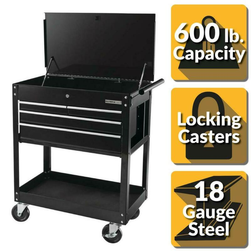 4 drawer roller cabinet tool chest storage