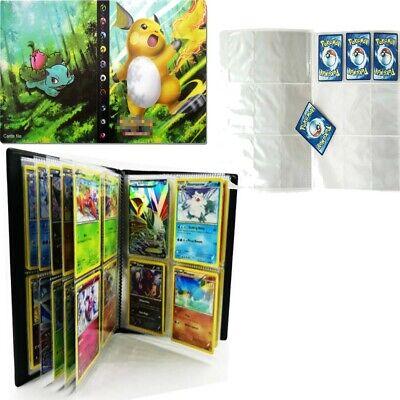 Pokemon 240 Cards Album Book Binder Collectors Folder Capacity DIY Cards Holder