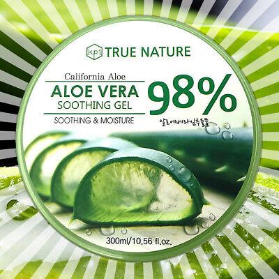 98% Aloe Vera Gel Soothing & Moisture - Hydrating Moisturizer Facial (10.58oz)