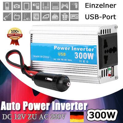Auto Power Inverter Converter USB Ladegerät Adapter USB 300W DC 12V AC 220V GP1 Ac Power Inverter Ladegerät