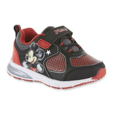 Shoes That Light Up (Mickey Mouse Sneakers Size 8 9 10 11 or 12 Disney Shoes that Light)